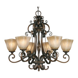 Meridian 6-Light Chandelier