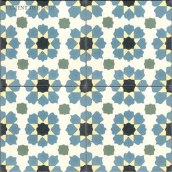 Moroccan Collection - Moorish Pattern from Cement Tile Shop - In Stock