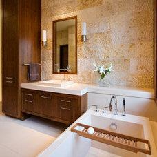 Modern Bathroom by Concreteworks