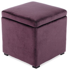 Contemporary Ottomans And Cubes by Walmart
