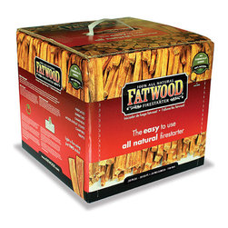 Uniflame - Uniflame C-1710 10 Pounds Fatwood in Color Carton - 10 Pounds Fatwood In Color Carton belongs to Outdoor Living Collection by Uniflame