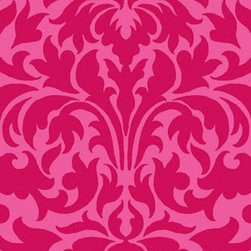 """Surya - Surya Abigail ABI-9006 (Magenta, Carnation) 2'6"""" x 8' Rug - Lively, energetic coloring pops against a bold backdrop, fashioning a look that will offer the perfect addition to your home decor."""