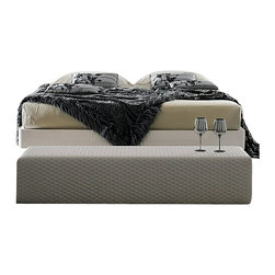 Rossetto - Rossetto Domino Bed Bench - Rossetto - Bedroom Benches - T420700020N50 - The padded bench offers not only a resting place but accents the wrap charm of the upholstered headboard. One Year Manufacturer Defect. Features: