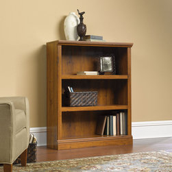 Sauder - Three Shelf Bookcase - Like product from our collections, this piece is quality-build and loaded with features to meet your unique needs. Features: -Bookcase. -Miscellaneous Bookcases collection. -Two adjustable shelves. -Quick and easy assembly with patented slide-on moldings. -Made in USA. -Manufacturer provides five years warranty.