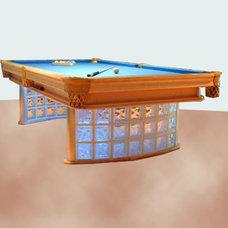 Asian  Custom Pool Table