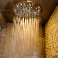 Contemporary Showers by Blu Bathworks