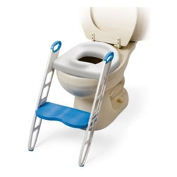 Mommys Helper - Mommy's Helper Padded Potty Seat with Step Stool - Help make potty training an easier experience by making the adult toilet less intimidating. This heavily padded potty seat fits standard and most elongated toilet seats and assembles and attaches simply with no tools necessary.
