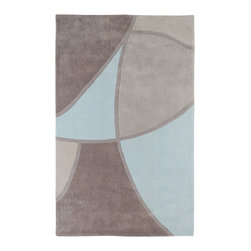 Surya - Surya Cosmopolitan COS-8888 (Gray) 8' x 11' Rug - Hand tufted from 100% poly-acrylic fibers, these economical rugs come in designs inspired by high-fashion and abstract art. Contemporary and transitional themes are seen throughout the collection and make for a diverse group of rugs that can be utilized in a number of different types of rooms.