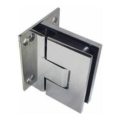 Coastal Shower Doors - Paragon Soft-Close Shower Door Hinges | Glass-2-Wall | Pair, Polished Chrome, Gl - Paragon Soft-Close Hinges | Polished Chrome | Glass To Wall | Coastal Shower Doors