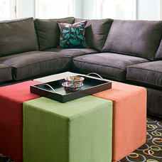Eclectic Footstools And Ottomans by Designing Solutions