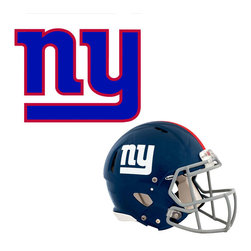 Brewster Home Fashions - NFL New York Giants Wall Graphics 4pc Teammate Sticker Set - FEATURES: