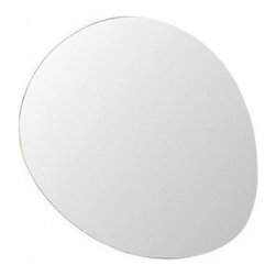 Modern Stone Mirror - As the name suggests, the Stone Mirror boast a stone-shaped design.