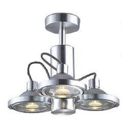 Modern Aluminium 3 Lights Spot Lighting -