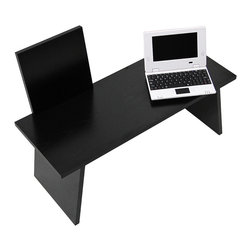 Transition Workstation, sit/stand work desk. - The Transition Workstation gives you the flexibility to quickly transition from sitting to standing at your desk and back again—all without retrofitting your existing furniture. The product folds flat for easy storage under your desk until you're ready to stand up.  Our patent-pending design opens up in seconds and sits solidly on your desktop with a platform large enough for both keyboard and mouse.