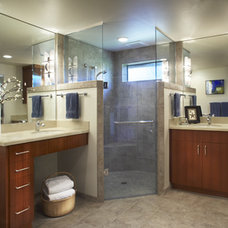 Contemporary Bathroom by Kraft Custom Construction