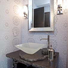Modern Powder Room by BRF Homes, Inc