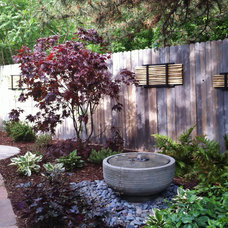 Asian Outdoor Fountains And Ponds by Creative Living Interior & Exterior decor