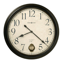 HOWARD MILLER - Howard Miller Large Wall Clock - Glenwood Falls - This large wall clock features :