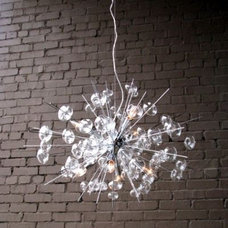eclectic chandeliers by Clayton Gray Home