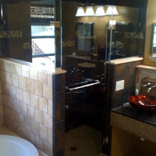 Eclectic Showers by Exceptional Glass LLC