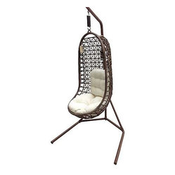 Panama Jack Island Cove Open Weave Hanging Chair