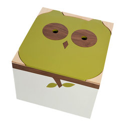 Mod Mom - The Noah Owl Toy Box - Tell the kids it's time to feed the owl when cleanup time rolls around. They won't mind stashing their toys in this cute box, and the environmentally sustainable birch wood and low-VOC paint will leave you feeling good about your purchase.
