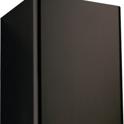 """32"""" Flue Cover for 30"""" Classico Series Wall-Mount Black Range Hood - Black - This stainless steel flue cover is finished with Black Powder Coat to perfectly complement the 30"""" Classico Series Wall-Mount Black Range Hood. This flue extension is ideal for use in kitchens with taller-than-normal ceilings to cover duct work."""