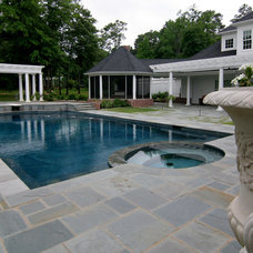 Traditional Swimming Pools And Spas by Preferred Pools Inc.