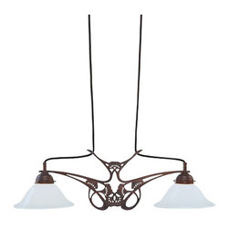 Berlin Brass lamps - Berlin Brass lamps D38-22opA Pendant Light - The D38-22opA pendant light by Berlin Brass Lamps is a work of art.