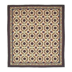 Patch Quilts - Star Light Twin Quilt - -Constructed of 100% Cotton  -Machine washable; gentle dry  -Made in India Patch Quilts - QTSTLG