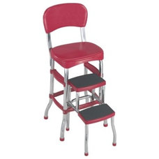 Cosco Retro Chair with Step Stool - Red : Target