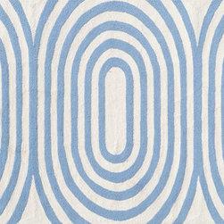 "The Rug Market - Mod Blue area rug , size   7'6"" X 9' 6"" -"
