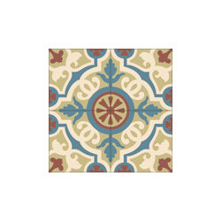 """ Amalia"" Encaustic Cement Tiles Standard 8x8 - Rustico Tile and Stone. We offer wholesale Prices and global Shipping.  Contact us for a quote.  Make Every Space Count!"