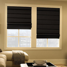 Contemporary Roman Shades by Blindsgalore