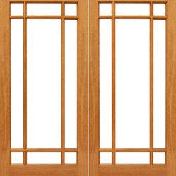 9 Marginal Interior Brazilian Mahogany Wood Ig Glass
