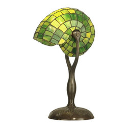 Dale Tiffany - Petite Dale Tiffany Nautilus Table Lamp - Product Details