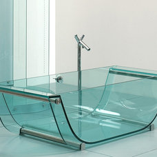 Contemporary Bathtubs by Prizma Studio