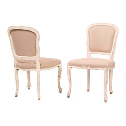 Orleans Dining Chair, French White