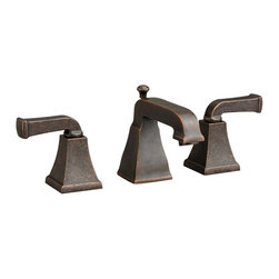 American Standard - American Standard 2555.821.224 Townsquare 2-Handle Bath Faucet-Oil Rubbed Bronze - American Standard 2555.821.224 Townsquare two handle Widespread Lavatory Faucet, Oil Rubbed Bronze. This widespread lavatory faucet features a Speed Connect pre-assembled drain that makes installation easy, a brass construction for durable, long-lasting performance, 1/4 turn ceramic disc valve cartridges, and a pressure compensating aerator that sets the flow rate at 1.5 GPM.
