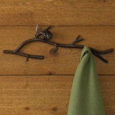 Traditional Towel Bars And Hooks by Everything Primitives