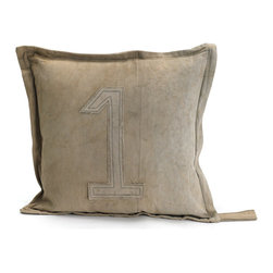 Go Home - #1 Gypsy Square Pillow - #1 Gypsy Square Pillow a great gift for your special one.Made from vintage tent canvas and its material condition and color may slightly vary as it is recycled.