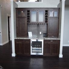 Modern Home Bar by Creative Wood Designs Inc.