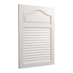 Lighthouse Distribution Corp - Broan-Nutone White Grained Wood Look Louver Door 16W x 24H in. Medicine Cabinet - Shop for Bathroom Cabinets from Hayneedle.com! Open these shutters and discover the Broan-Nutone White Grained Wood Look Louver Door Medicine Cabinet - 16W x 24H in.. This charming louvered door looks like wood but is made of white polystyrene so it doesn't need painting ever. Hidden inside is a roomy cabinet that discreetly holds medications cosmetics and personal items. The hidden piano hinge opens easily to reveal lots of recessed storage space on two fixed shelves. The molded plastic body won't rust and cleans with a wipe. It's a reassuring and cheerful addition to any bathroom. Backed by a one year manufacturer's warranty. Assembles easily with included instructions. Single Door 16x24 Cabinet:Dimensions: 16.25W x 4.625D x 24.5H inchesRough opening required: 14W x 2.5D x 18H inchesShelf depth: 2.5D inches About Broan-NuToneBroan-NuTone has been leading the industry since 1932 in producing innovative ventilation products and built-in convenience products all backed by superior customer service. Today they're headquartered in Hartford Wisconsin employing more than 3200 people in eight countries. They've become North America's largest producer of medicine cabinets ironing centers door chimes and they're the industry leader for range hoods bath and ventilation fans and heater/fan/light combination units. They are proud that more than 80 percent of their products sold in the United States are designed and manufactured in the U.S. with U.S. and imported parts. Broan-NuTone is dedicated to providing revolutionary products to improve the indoor environment of your home in ways that also help preserve the outdoor environment.