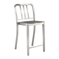 Heritage Counter Stool by Emeco