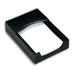 Dacasso - Dacasso Vercelli Leather Memo Holder Multicolor - A1009 - Shop for Memo and Note Pad Holders from Hayneedle.com! Keep your life and desk top orderly with our 4 inch x 6 inch memo holder. Fashioned of top-grain leather in the deepest shade of ebony this holder is perfect for jotting notes or messages. Order today to get more organized.