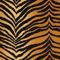 Gold And Black Tiger Microfiber Stain Resistant Upholstery Fabric By The Yard - Microfiber fabric is the premier choice for indoor upholstery. This fabric is stain resistant, soft and incredibly durable. Plus it is easy to clean and made in America! Microfiber is excellent for residential, commercial and automotive upholstery.