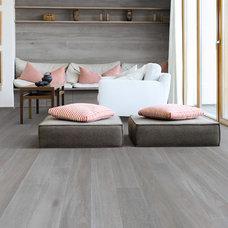 Contemporary Hardwood Flooring by Burritt Bros. Carpets