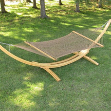 Contemporary Hammocks And Swing Chairs by homefurnitureandpatio.com