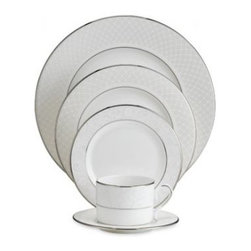 Lenox - Lenox Venetian Lace 5-Piece Place Setting - Lenox Venetian Lace 5-Piece Place Setting