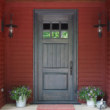 Traditional Front Doors by Lakehouse Cabinetry Inc.